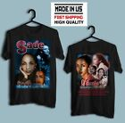 VTG SADE Lovers Rock Tour 2001 Unisex Black T-shirt HIgh Quality All Size image