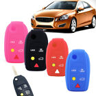 5Button Silicone Remote Key Cover Shell Fob Case For Volvo S60 S80 V70 XC70 XC90