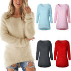 Fashion Autumn Winter O-Neck Pullover Casual Long Female Sweaters