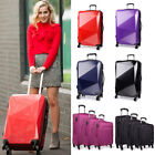 4 Wheels Trolleys Suitcase Travel Luggage Hard Shell Cabin Hand Case