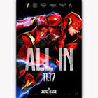"""Art Hot Justice League The Flash 2017 All In DC Custom Poster -24x36"""" 27"""" P-356"""