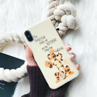 Cute Disney winnie the pooh Tiger soft case Cover for iPhone X XS Max 8 7 6 Plus