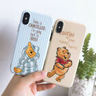 Cute Disney winnie the pooh Tiger soft IMD case Cover for iPhone X 8 7 6 6S Plus
