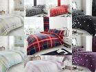 New Luxury Check Jewel Reversible Duvet/Quilt Cover Bedding Sets or Complete Set
