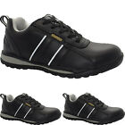 LADIES ULTRA LIGHT-WEIGHT PLASTIC TOE CAP TRAINER SAFETY WOMEN LACE UP WORK SHOE