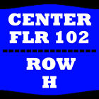 2 TIX BOYZ II MEN 3/24 FLOOR 102 ROW H HORSESHOE SOUTHERN INDIANA ELIZABETH
