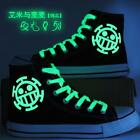 Anime one piece casual high-top canvas shoes student daily Cosplay Shoes