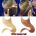 24 inch Halo Style Remy Human Hair Invisible Wire Hair Extensions Medium Brown