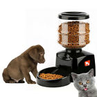 5.5L Automatic Pet Feeder Food Dish Bowl Dispenser LCD Display for Dog Cat NMX6