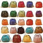 Chinese Silk Jewelry Pouch Bag Gift pouch bag Drawstring Jewelry Pouch Bag 008