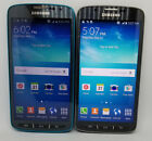 Samsung Galaxy S4 Active I537 - 16gb (at&t) Dive Blue / Gray Ptg / Good Lcd Read