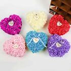Romantic Rose Wedding Favors Heart Shaped Gift Ring Box Pillow Decoration Hot