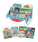Christmas Activty Sets - Stained Glass - Puffy Stickers - Mess Free Glitter