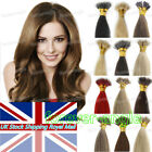 1g/s 7A Micro Beads Nano Ring Double Drawn Indian Remy Human Hair Extensions UK