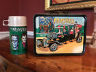 Vintage 1965 The Munsters Lunch Box With Thermos......Great Colors......NICE