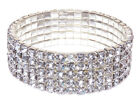 Swarovski Elements Crystal Tennis Silver Tone Bracelet Jewelry Christmas Gift