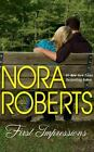 FIRST IMPRESSIONS unabridged audio book on CD by NORA ROBERTS - Brand New!