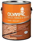 Olympic/Ppg Architectural Fin 58806A/01 1-Gallon Semi-Transparent Brick Red
