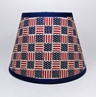 Country Primitive Americana Flag Star Fabric Lampshade Lamp Shade