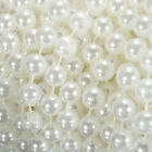10m/33ft 8mm Roll Ivory Pearl Bead String Garland Curtain Trimming Wedding Decor