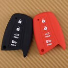 4 Buttons Silicone Remote Key Fob Cover Case For Hyundai Genesis Santa Fe Equus