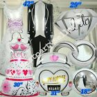 Wedding engagement Foil bridal shower Balloons party decoration supply