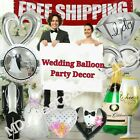 heart decorations - Wedding engagement Foil bridal shower Balloons party decoration supply
