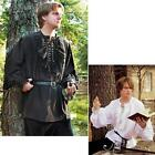 Black or White Elegant Classic Style Renaissance / Pirate or Poets Shirt - LARP