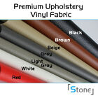 "Car Premium Upholstery Marine Vinyl Fabric 54"" Choose Length & Color 1YD - 10YD"