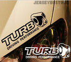 Turbo Inside Driving Performance Car Trunk Decal Bumper Sticker for VW etc
