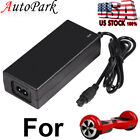 42V 2A Power Adapter Charger For 2 Wheel Balance Scooter Hoverboard Swagway US