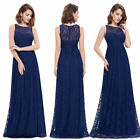 Ever-Pretty Elegant Long Bridesmaid Dress Lace Midnight Evening Prom Gown 08824
