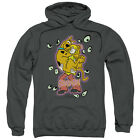 SCOOBY DOO BEING WATCHED Licensed Adult Hooded and Crewneck Sweatshirt SM-3XL