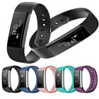 Smart Watch Bluetooth Wristband Bracelet Pedometer Fitness Tracker ID115 YU#03