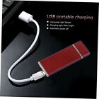 USB Charging Lighter Windproof Rechargeable  Ultra-Thin G-Sensor Lighter ZK