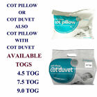 Finest Quality Anti-Allergy Toddler Baby Cot Bed Duvet Quilt 4.5 7.5 and 9 Tog