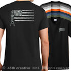 Oilfield Worker US Flag T-Shirt american roughneck flag shirt usa oilfield shirt image