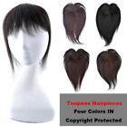 45g Machine Made Clip in human hair extension women Toppers Toupees Hairpieces