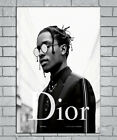 E598 Art ASAP ROCKY Rap Hip Hop Music Star Dior Fashion 18 24x36inch Poster Gift