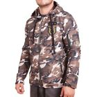 D & A Lifestyle Army Style Windbreaker Braun Camouflage(136431)