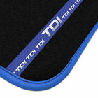 Ford Street Ka 2003 - 2008 Luxury Car Mats + Tdi Stripe