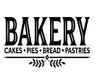 Bakery Cakes Pies Bread Pastries Vinyl Decal Sticker Wall Kitchen Home Choice