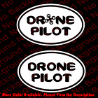 DRONE Guide Oval Vinyl Die Cut Decal/sticker DJI Phantom Quadcopter Parrot SP035