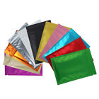 colored zip lock bags - 100 Clear/Silver/Colored Foil Mylar Zip Lock Bags in Different Colors and Sizes
