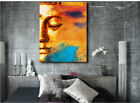 buddhist home decor - Abstract Buddhist Collage Art Canvas Poster Print Home Wall Decor