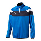 PUMA Spirit II 1/4 Zip Trainingstop Kids Blau F02
