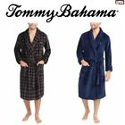 Внешний вид - SALE Tommy Bahama Men's Plush Robe with Pockets S/M L/XL Color Variety Lounge