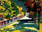 Classic abstract art print from Wasily Kandinsky: Autumn in Bavaria