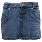 8382U gonna donna CUSTO BARCELONA blu denim skirt woman