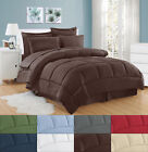 Dobby Embossed Hotel Comforter Sheet Sham 8 Piece Bed In A Bag Set image